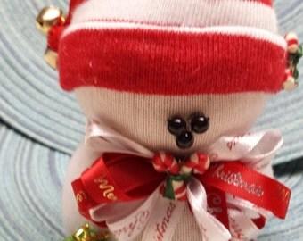 "Sock Snowman SM063 ""Santa's Bag"""