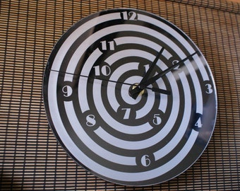 Clock in choice, laser cut plexi plexiglass