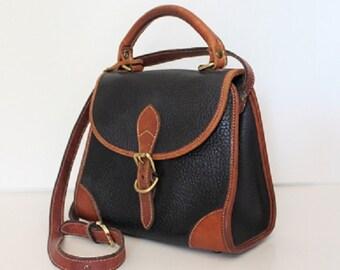 Vintage Dooney and Bourke, Crossbody Messenger Satchel Handbag, 313180