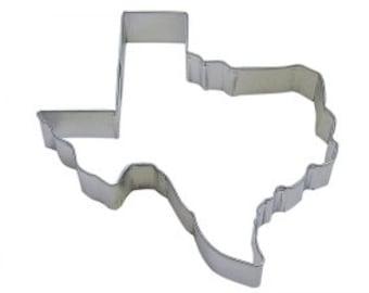"Cookie Cutter Texas State by Ann Clark 4 3/8"""