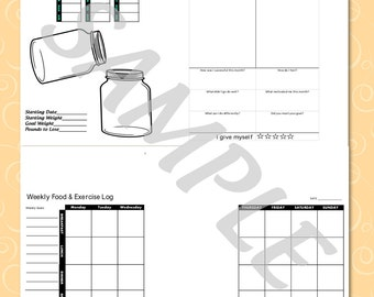 Happy Planner Fitness Insert kit