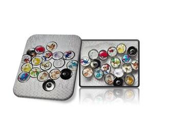 Chunks, click button, click button Pokemon, Pokeball, free choice