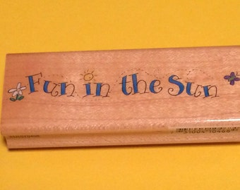 Fun In The Sun Stamp
