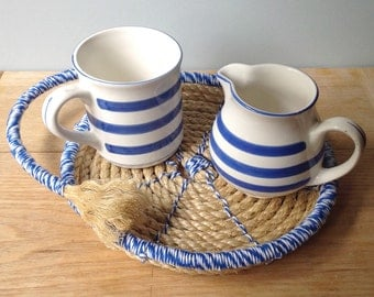 Digital Pattern Download for a Woven Rope Breakfast Coaster