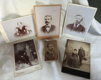 Victorian Men With Facial Hair Cabinet Photos, Barber Shop Idea