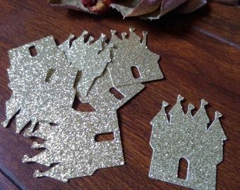 Royal Castle Confetti,Princess Castle Confetti,Princess Birthday Party,Princess Baby Shower Confetti,Castle Bridal Confetti,Castle Decor