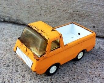 Vintage Tonka Light Orange Truck