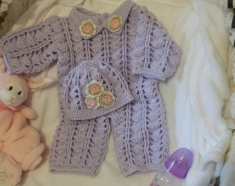 0-3month crochet pattern