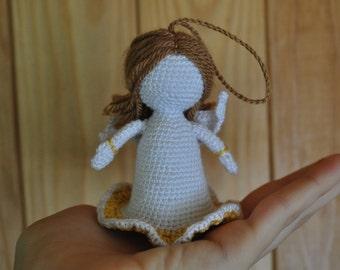 Little crochet angel / angel crochet / angel toy / wedding angel