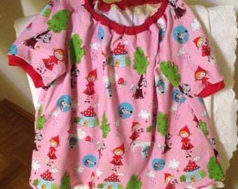 Sweet girl dress from Jersey in Gr. 74