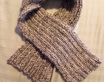 Heather grey scarf