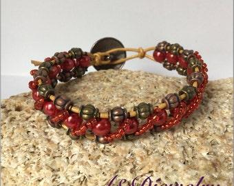 Fancy Red Bracelet
