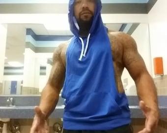 new stylish lowcut sleeveless hoodies
