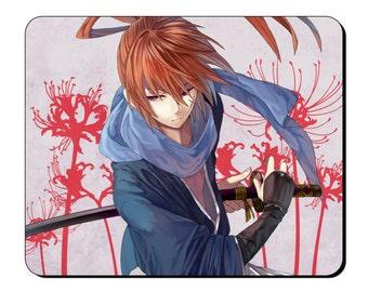 Mouse Mat - Himura Kenshin - Anime Japanese Character Mouse Pad AN113