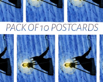 Bat-Buoy Postcard Pack