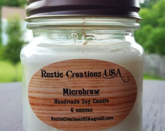 Microbrew - Premium Soy Candle