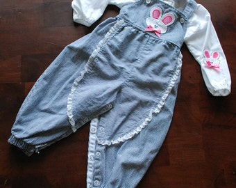 Vintage Buster Brown Toddler Outfit, Size 2T