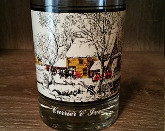 Vintage 1978 Arby's Collector's Series Currier & Ives Glass (4 of 4)