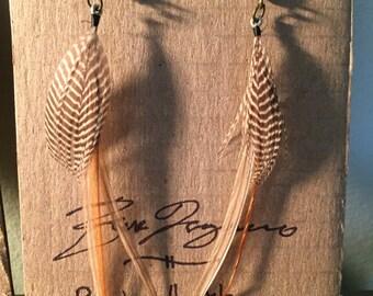 Eyecast hand-tied fly earrings