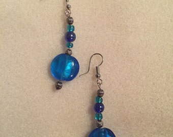 Deep Blue Sea Earrings