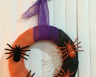 Halloween Wreath/Door Hanger/Decor