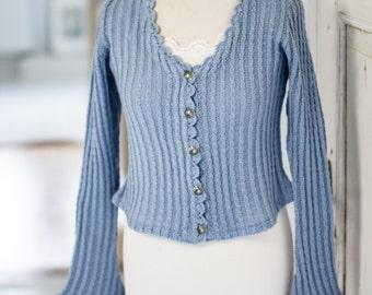 SALE! % ! Ladies Cardigan Spencer, handmade
