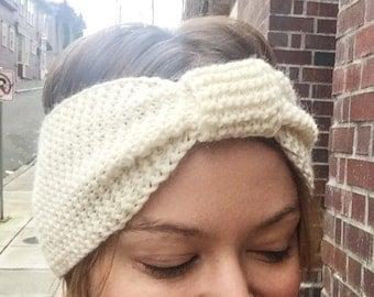 Knit Headband, Knit Ear Warmer, Turban, Winter Accessories