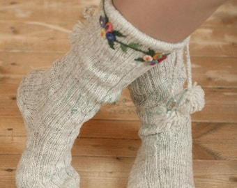 Wool socks - priglavci