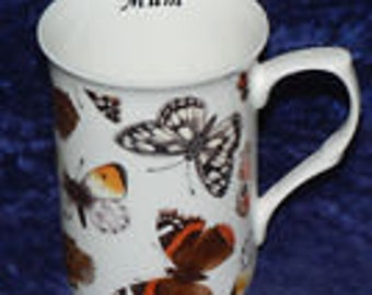 China Butterfly, butterflies - personalised if required at no extra cost