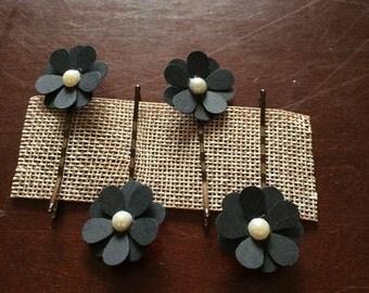 Floral Hair Pins