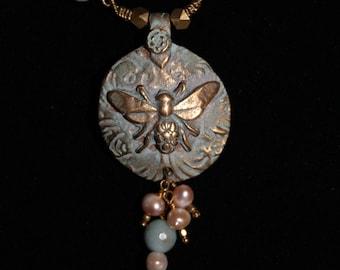 Aquamarine Bee