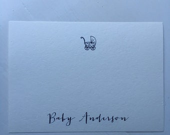 Baby thank you note