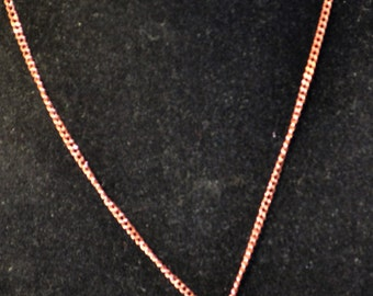 Copper necklace with Swarvoski pearls and Bicones
