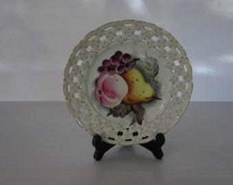 Vintage Lefton Decorative Plate
