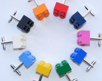 LEGO ® Brick Cufflinks  -Wedding, Groom, Mens