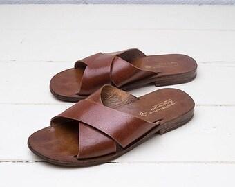 Indian Leather Slides