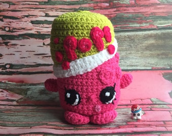 Soda Pops - Shopkins Crochet Pattern pop can pink amigurumi kawaii