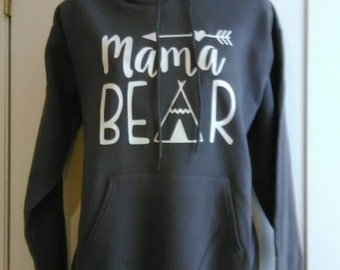 SALE!!! Mama Bear Hoodie, Mama Bear, fast shipping, boutique style hoodie,