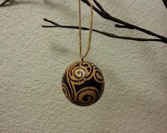 Christmas Ball Ornaments - Set of two
