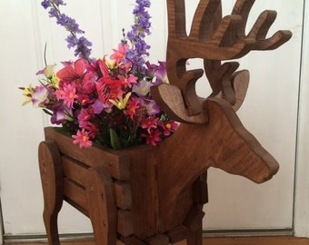 Deer Planter Basket