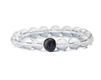 Clear Quartz Bracelet / Stretch Bracelet