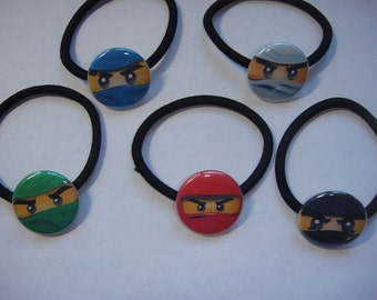 Ninjago Bracelets Set of 5