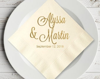 Wedding napkins Etsy