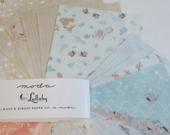 "Moda Baby 5"" Charm Pack of 42 squares -100% cotton"