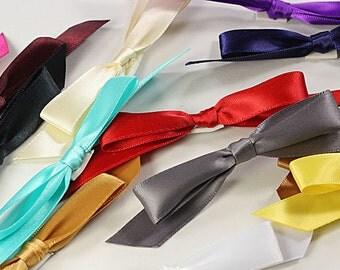 25 - Satin Bows for Invitations