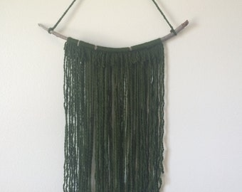 "Bohemian wall hanging - ""Irish Moon"""