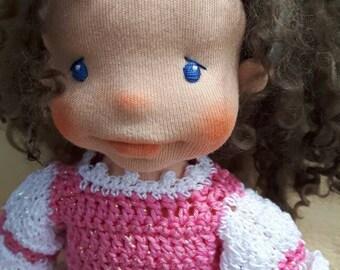 Sylvie waldorf doll