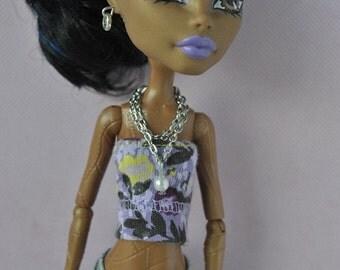 Handmade jewelry-necklece for Monster High dolls