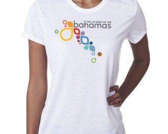 Bahamas vacation travel ladies t-shirt