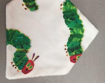 Hungry Caterpillar dribble bib